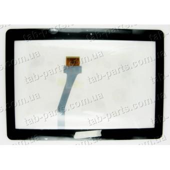 Samsung N8000, P5110, P5100 черный емкостной тачскрин (сенсор)