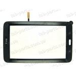 Samsung T110, T111 WiFi версия черный емкостной тачскрин (сенсор)