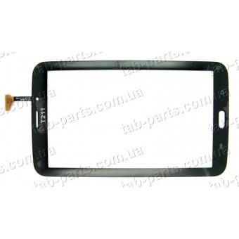 Samsung T210, T211 3G черный емкостной тачскрин (сенсор)