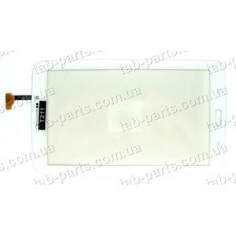 Samsung T210, T211 3G белый емкостной тачскрин (сенсор)