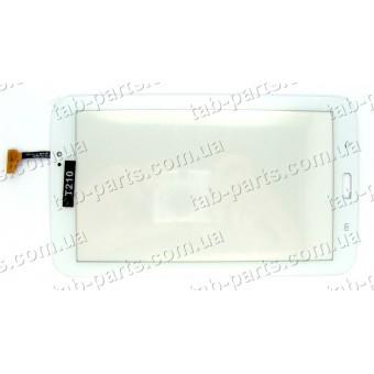 Samsung T210, T211 белый емкостной тачскрин (сенсор)