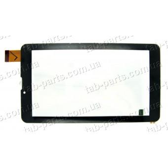 X-digital TAB 711 3G тип №1 черный сенсор (тачскрин)