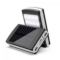 Универсальная батарея Solar PowerBank + Led 50000 mAh