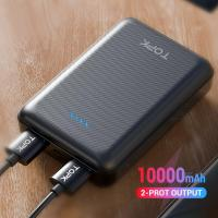 УМБ Power Bank Topk mini 2xUSB 10000 mAh черный (TKI1004-BL)